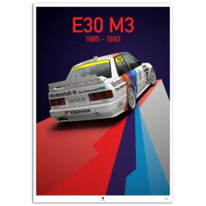 E30 M3 race - rear